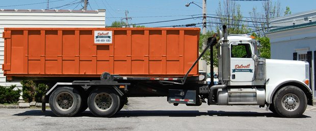 About Detroit Waste Disposal Dumpster Rentals